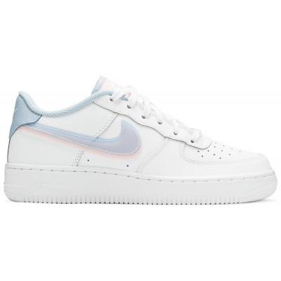 Заказать женские кроссовки Nike Air Force 1 Low LV8 Double Swoosh Light Armory Blue сейчас!