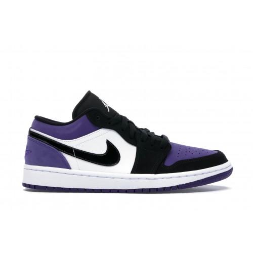 Мужские кроссовки Nike AIR JORDAN 1 LOW COURT PURPLE