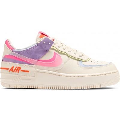 Заказать женские кроссовки Nike Air Force 1 Shadow Beige Pale Ivory сейчас!