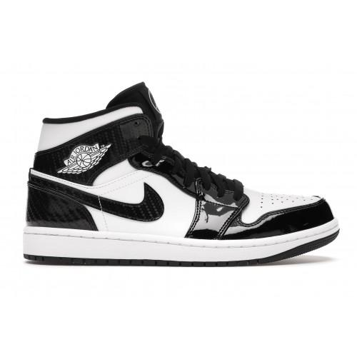 Женские кроссовки Nike Air Jordan 1 Mid Carbon Fiber All-Star