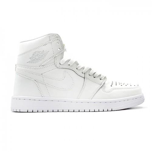 Мужские кроссовки Nike Air Jordan 1 Mid - White