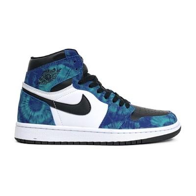 Купить Мужские кроссовки Nike Air Jordan 1 High Tie-Dye