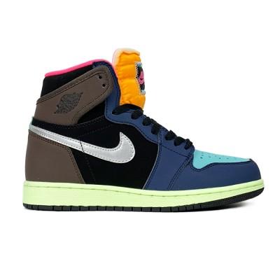Купить Мужские кроссовки Nike Air Jordan 1 High Baroque Brown