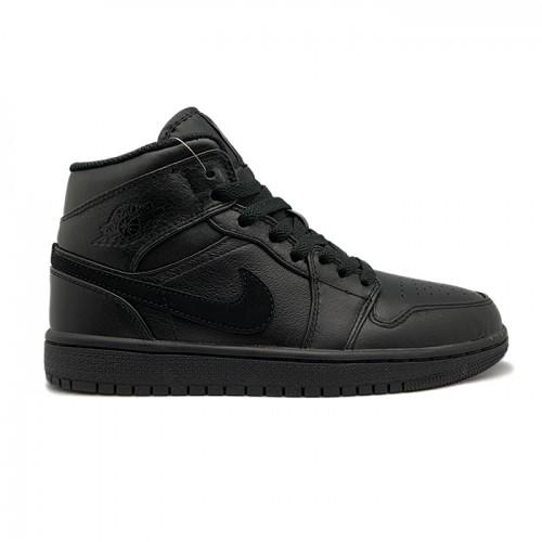 Женские кроссовки Nike Air Jordan 1 Retro - Black