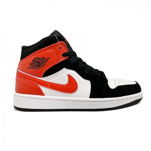 Женские кроссовки Nike Air Jordan 1 Mid GS Shattered Backboard