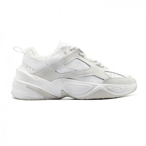 Женские зимние кроссовки Nike M2K Tekno White