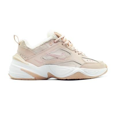 Купить зимние женские кроссовки Nike M2K Tekno Peach