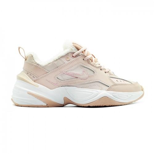 Женские зимние кроссовки Nike M2K Tekno Peach