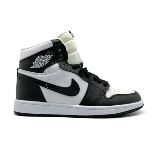 Мужские кроссовки Nike Air Jordan 1 Black/White