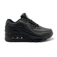 Женские кроссовки Nike Air Max 90 Leather Black