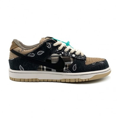 Мужские кроссовки Nike SB x Travis Scott Dunk Low 'Cactus Jack'