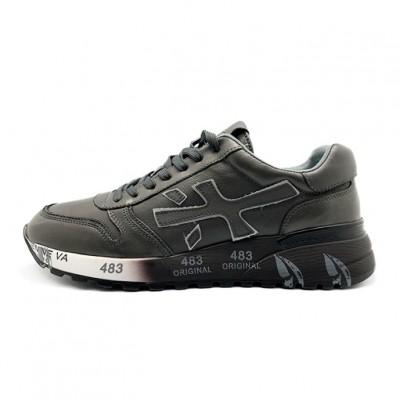 Мужские кроссовки Premiata Leather Grey
