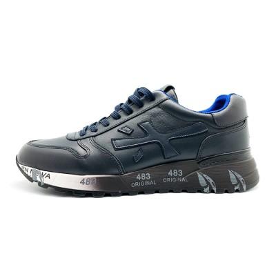 Мужские кроссовки Premiata Leather Navy