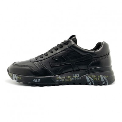 Мужские кроссовки Premiata Leather Black