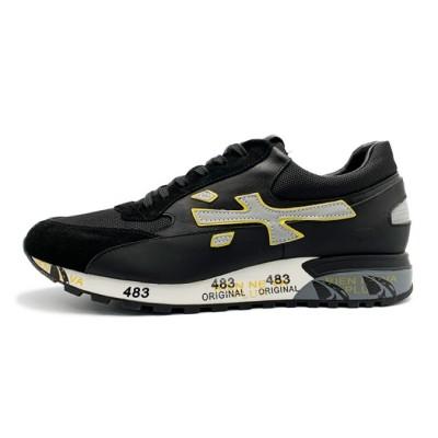 Мужские кроссовки Premiata Lucy Sneakers Django Black