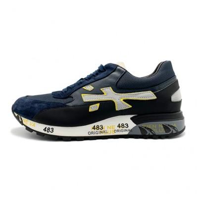 Мужские кроссовки Premiata Lucy Sneakers Django Navy