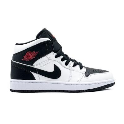 Nike AIR JORDAN 1 MID WMNS REVERSE BLACK TOE