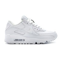 Женские кроссовки Nike Air Max 90 Leather White