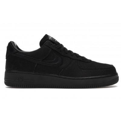 Заказать мужские кроссовки Nike Air Force 1 Low Stussy Black сейчас!