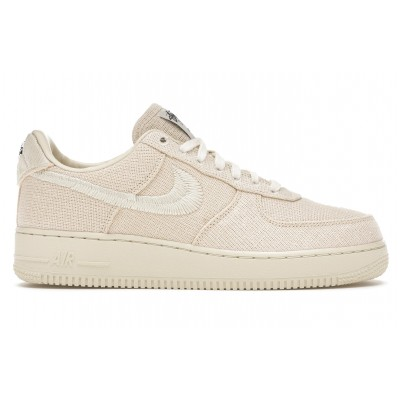 Заказать мужские кроссовки Nike Air Force 1 Low Stussy Fossil сейчас!