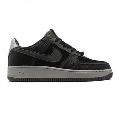 Купить Мужские кроссовки Nike Air Force 1 Low Grey/Black на beinkeds.ru