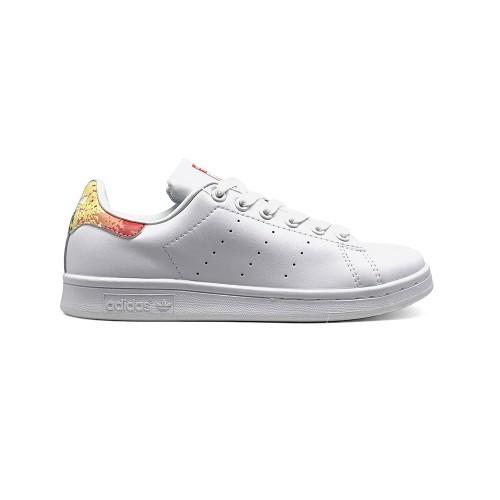 Женские кроссовки Adidas Stan Smith Leather Paint