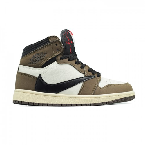 Женские кроссовки Travis Scott x Air Jordan 1 Retro High OG
