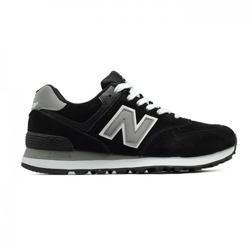New Balance Женские 574 Black - Gray