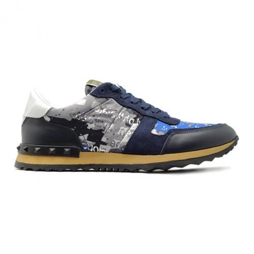 Мужские кроссовки Valentino Rockrunner - Navy