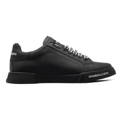Купить Мужские кеды Dolce & Gabbana Portofino Leather Black