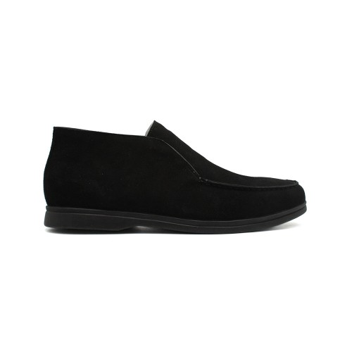 Мужские чукка Loro Piana Open Walk Total Black Suede