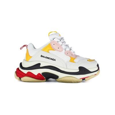 Купите Женские кроссовки Balensiaga Triple S Multi Yellow