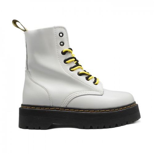 Женские ботинки Dr. Martens White