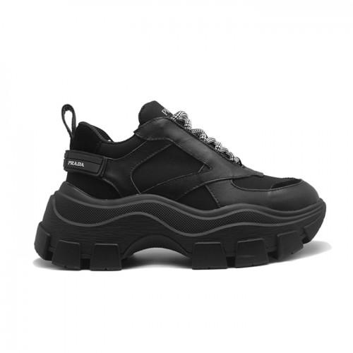 Женские кроссовки Prada Black Chunky Sneakers