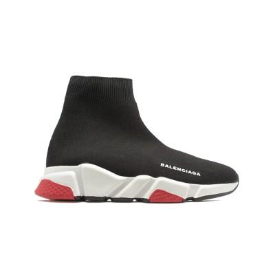 Купить Женские кроссовки Balensiaga Supreme Speed Trainer Black-Red