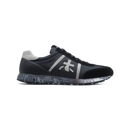 Мужские кроссовки Premiata Lucy Sneakers Black