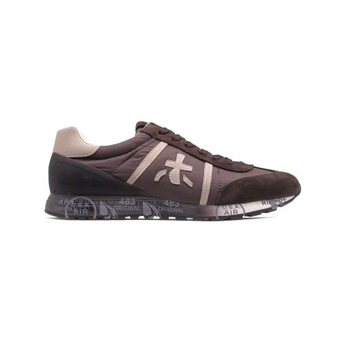 Мужские кроссовки Premiata Lucy Sneakers Brown