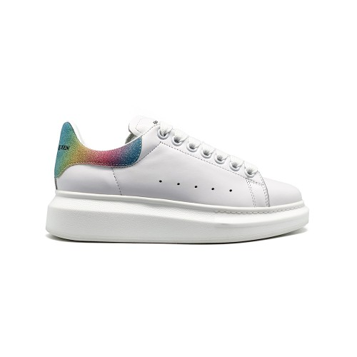Женские кроссовки Alexander McQueen Luxe Glitter Rainbow