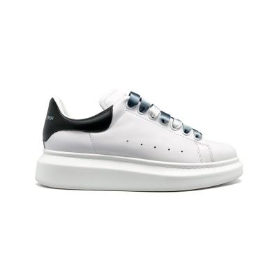 Купить Женские кроссовки Alexander McQueen Luxe Glitter White-Black