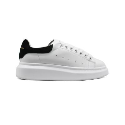 Купить Женские Зимние кроссовки Alexander McQueen Luxe White Black Suede