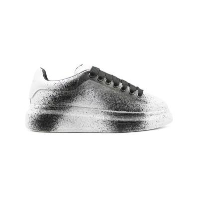Купить Женские Зимние кроссовки Alexander McQueen Luxe Black Printed