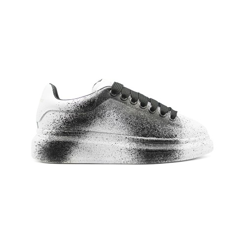 Женские Зимние кроссовки Alexander McQueen Luxe Black Printed