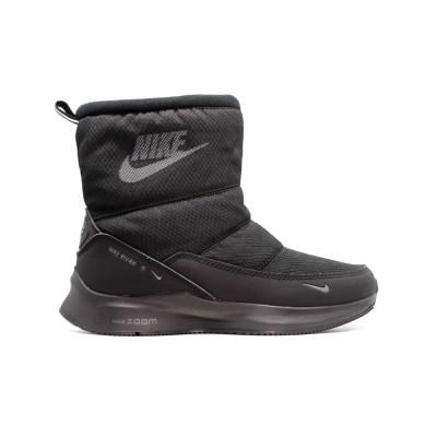 Дутики зимние Nike Black