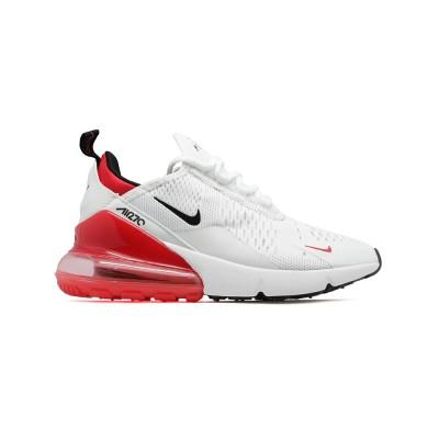 Купить женские кроссовки Nike Air Max 270 White-Red