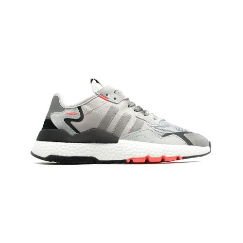 Кроссовки мужские Adidas Nite Jogger Grey-Red