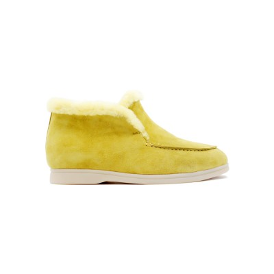 Купить Женские Зимние Loro Piana Open Walk Yellow