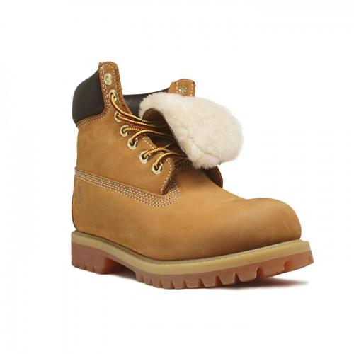 Мужские ботинки с мехом Timberland 10061 Rust