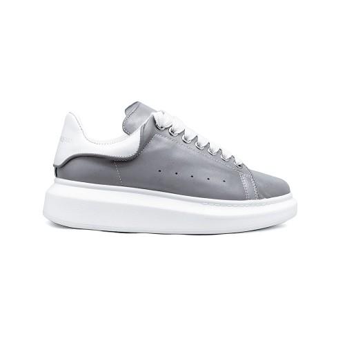 Женские кроссовки Alexander McQueen Luxe Reflective Grey