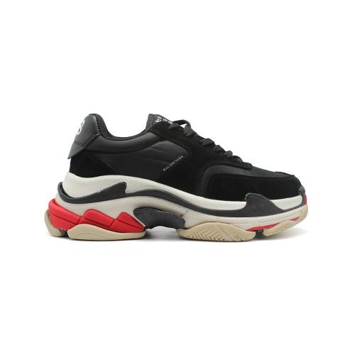 Мужские кроссовки Balensiaga Triple S 2.0 Satin Black