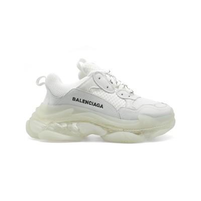 Купить Мужские кроссовки Balensiaga Triple S Transparent White